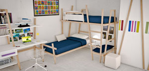 Cia International - camera allwood - Bunk Bed