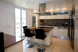 Marbrerie Des Yvelines -  - Modern Kitchen