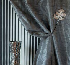Passementerie Mayer - embrasse feuille aimantée - Tieback