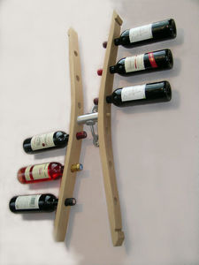 Douelledereve - cépage - Bottle Rack