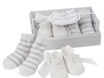 Mathilde M - bottillons, parfum douce brume - Newborn Gift Box