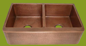 COPPER DESIGN MAKERS -  - Double Sink
