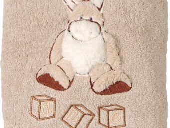 SIRETEX - SENSEI - carré de bain 100x100cm éponge brodée kadichon l' - Children's Bath Towel
