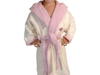 SIRETEX - SENSEI - peignoir enfant bicolore capuche princess - Children's Dressing Gown