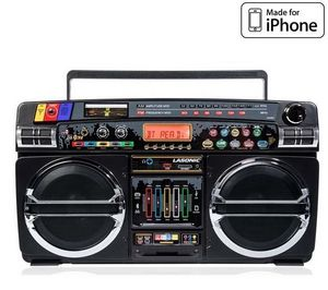 LASONIC - ghettoblaster i931 bt - noir - enceinte - Digital Speaker System