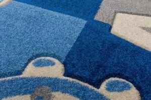 NAZAR - tapis amigo 133x190 blue - Children's' Rug