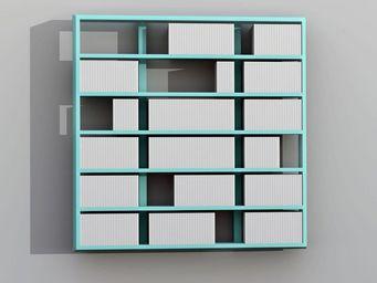 MALHERBE EDITION - etagère murale wall disc - Modular Bookcase
