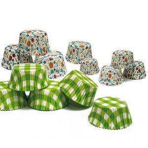 WHITE LABEL - 3 paquets de moules de cuisson et de présentation  - Cake Mould