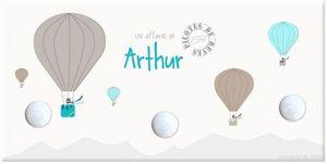 BABY SPHERE - portemanteau montgolfière - Children's Coat Rack
