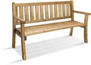 JARDIPOLYS - banc de jardin philadelphia en pin traité 150x67x8 - Garden Bench
