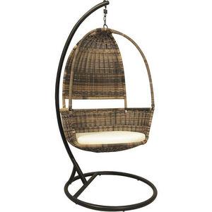 Aubry-Gaspard - balancelle sur pied en résine - Swinging Chair
