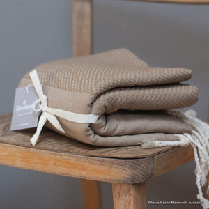 Zandaraa - fouta nid d'abeille 100% coton - Fouta Hammam Towel