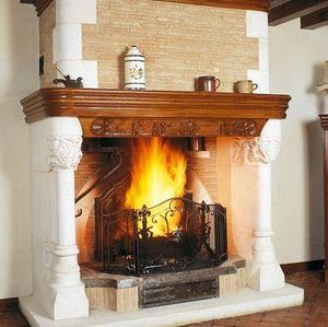Jean Magnan Cheminees - tancarville - Open Fireplace