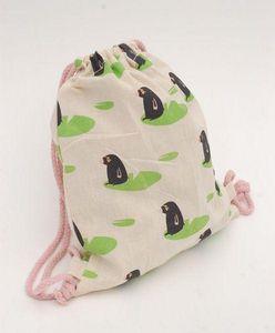 RÊVES DE GRENOUILLE - taupes - Backpack (children)