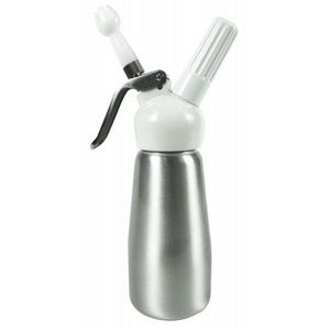 Yoko design - siphon 250 ml aluminium brossé - Cream Siphon