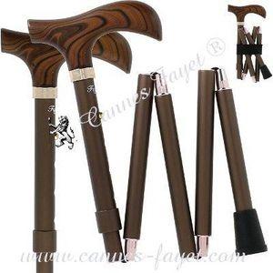 Plagable Folding cane