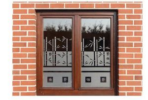 J'HABILLE VOS FENETRES - bambou - Privacy Adhesive Film