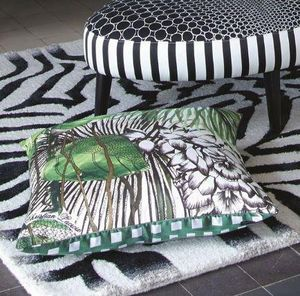 CHRISTIAN LACROIX FOR DESIGNERS GUILD - jardin exo'chic  - Square Cushion