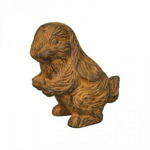 Demeure et Jardin - lapin en fonte aux longues oreilles - Animal Sculpture