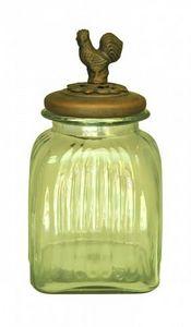 Demeure et Jardin - bocal couvert oiseau moyen modéle - Kitchen Jar