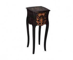 Demeure et Jardin - sellette de style napoléon iii noire - Pedestal