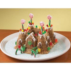 Nordicware - moule à gateau chateau fort 3d - Cake Mould