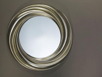 WHITE LABEL - regulus miroir mural en verre - Porthole Mirror