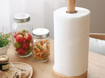 Acacia -  - Paper Towel Holder
