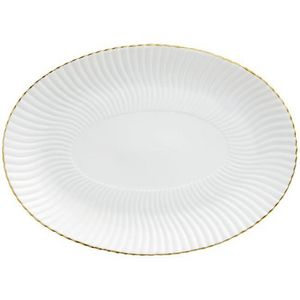 Raynaud - atlantide or - Oval Dish