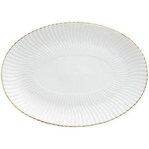 Raynaud - atlantide or - Oval Dish