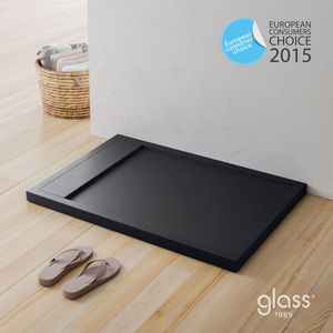 GLAss - rug - Shower Tray