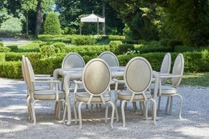 SAMUELE MAZZA OUTDOOR COLLECTION -  - Round Garden Table