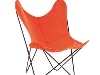 Airborne - coton orange - Armchair