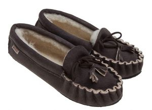 BABBI - femme- winnetou veg coffee - Slippers