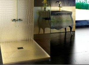 QUARE DESIGN - testure peau - Shower Tray