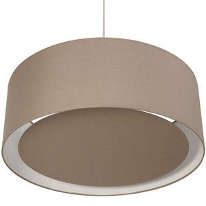 Metropolight - essentiel - suspension occultant ø58cm châtaigne | - Hanging Lamp