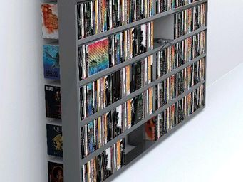 MALHERBE EDITION - wall disc laquée - Open Bookcase
