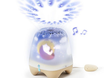 PABOBO - dream theater - veilleuse musicale hippo | guirlan - Nightlight Toy
