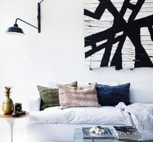 Maison De Vacances - jacquard spray & dye katmandou - Rectangular Cushion