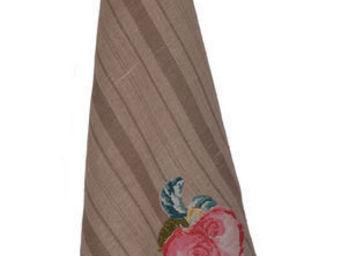 Coquecigrues - torchon cosette fleur - Tea Towel
