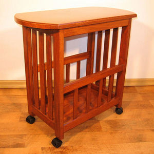 ECHOS Furniture - droit - blanc - Table On Wheels