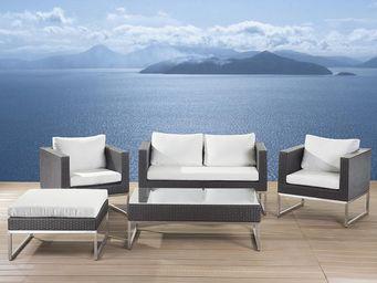 BELIANI - salons en rotin - Garden Furniture Set