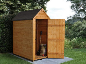 Forest Garden - overlap dip treated - Wood Garden Shed