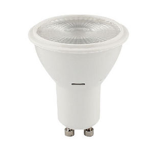 Light bulb with led spot