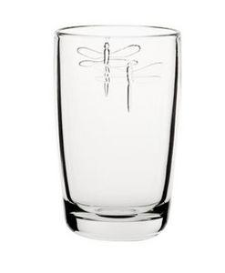 La Rochere - libellules - Soft Drink Glass