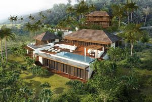 AW² - villa st barth - Architectural Plan