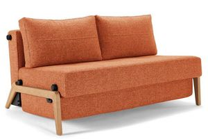 INNOVATION - cubed wood  - Reclining Sofa