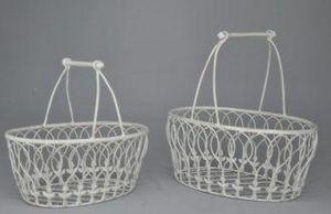 Demeure et Jardin - set de 2 paniers récamier - Basket