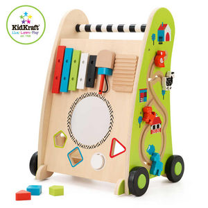 KidKraft - trotteur en bois multi-activités - Baby Walker