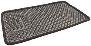 Aubry-Gaspard - paillasson en métal vieilli 67x40cm - Doormat